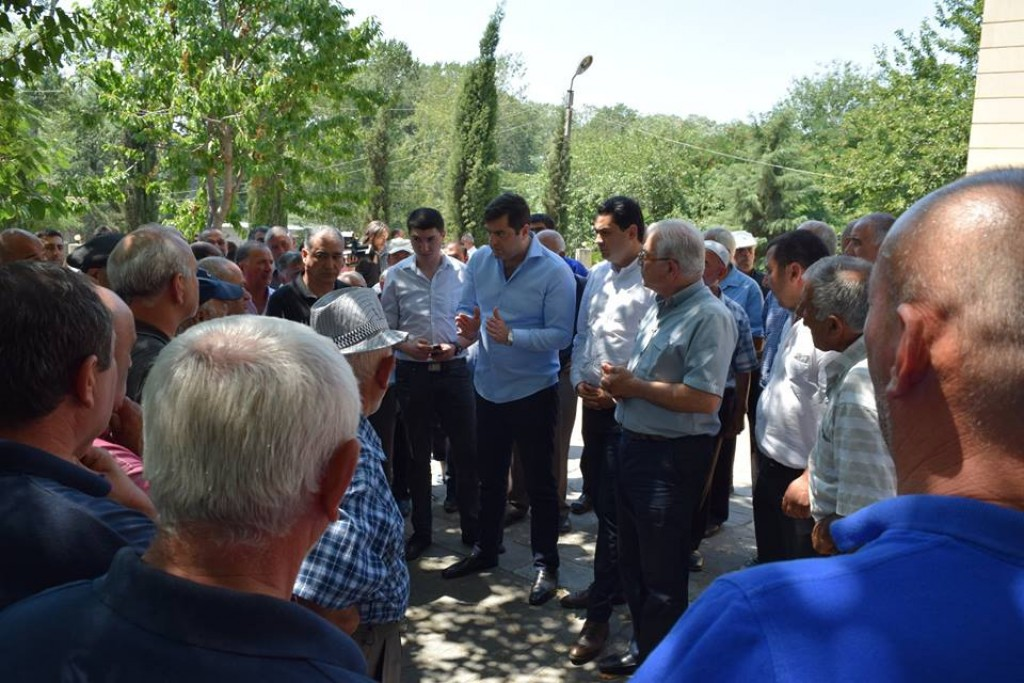 Water supply process has been restored in 4 villages of Algeti community