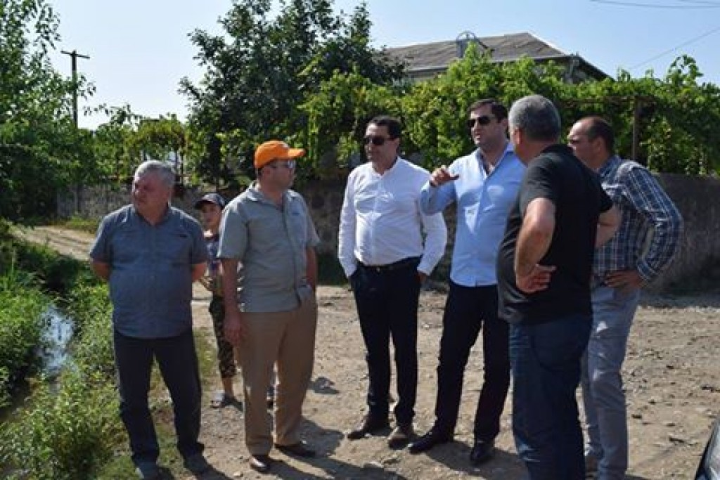 The governor got acquainted with ongoing projects in Marneuli municipality