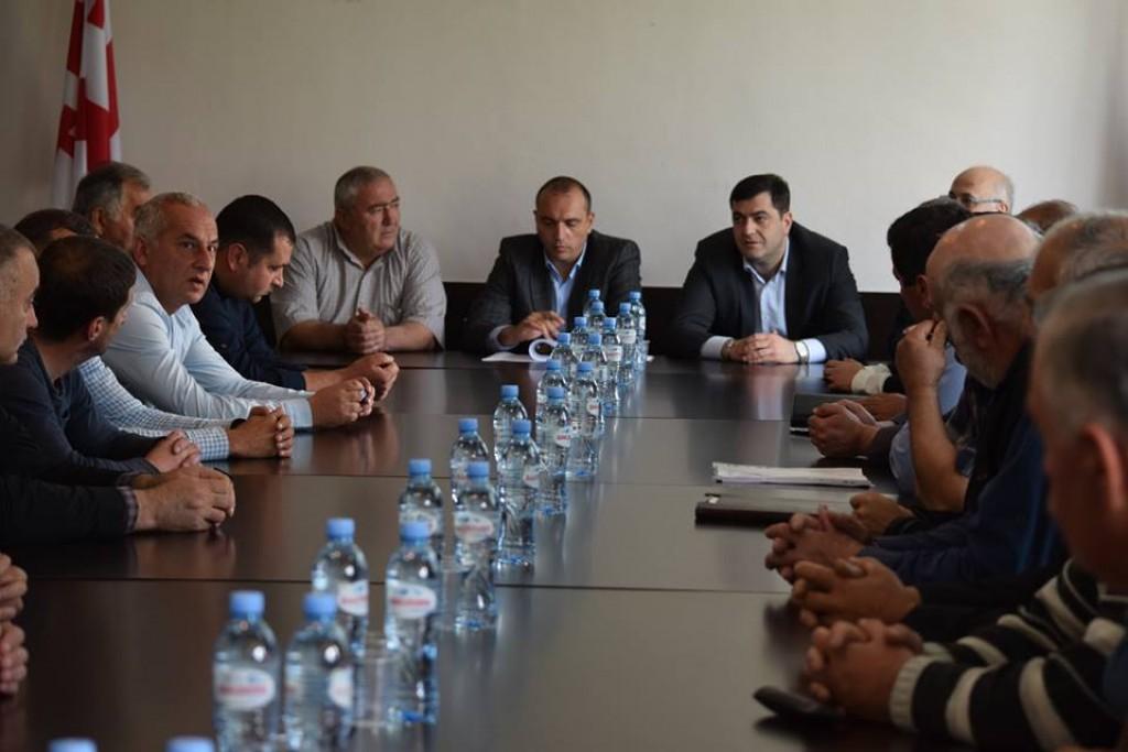 Governor in Tsalka and Tetritskaro municipalities