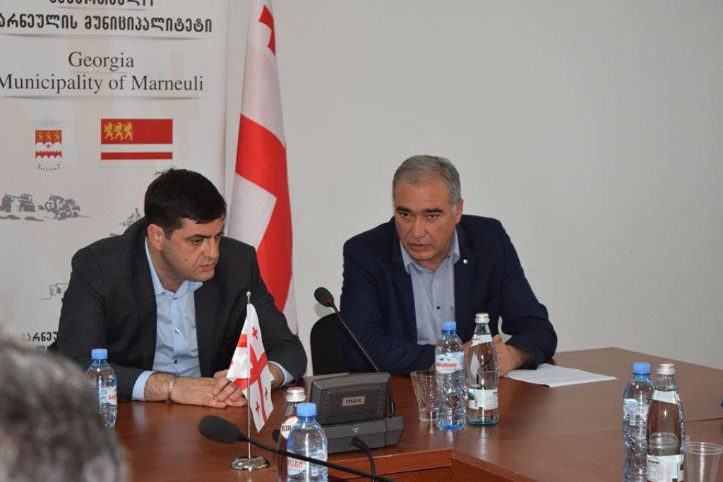 Governor in Marneuli and Gardabani municipality