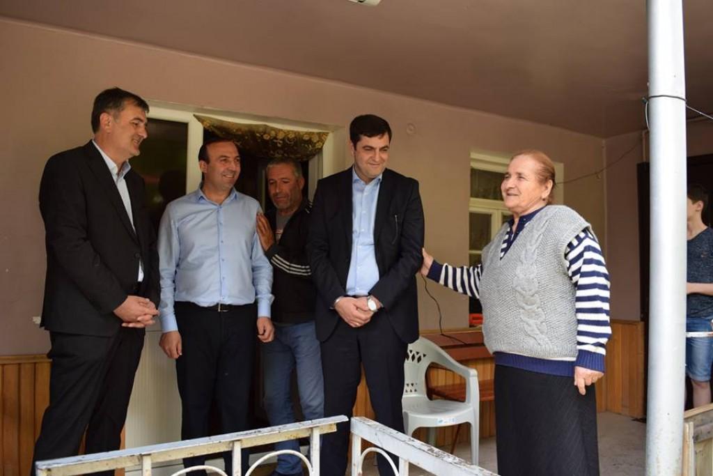 დევნილი ოჯახებისთვის შესყიდული სახლები დმანისის მუნიციპალიტეტში