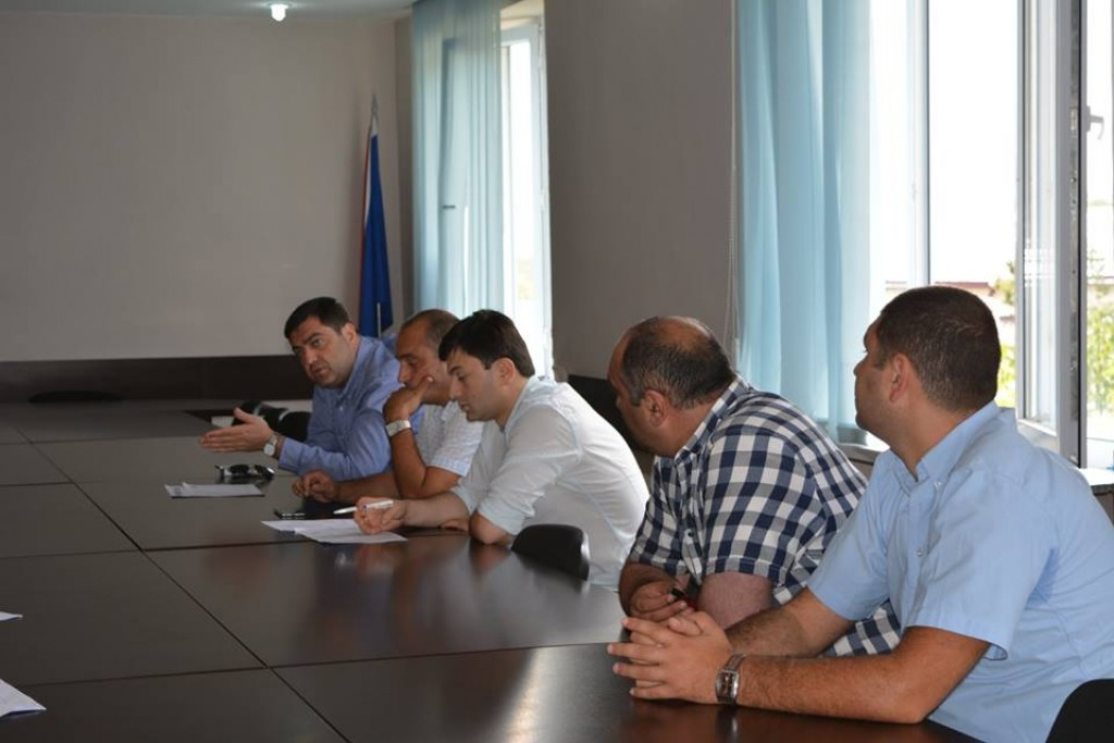 Workshop in Tetritskaro Municipality