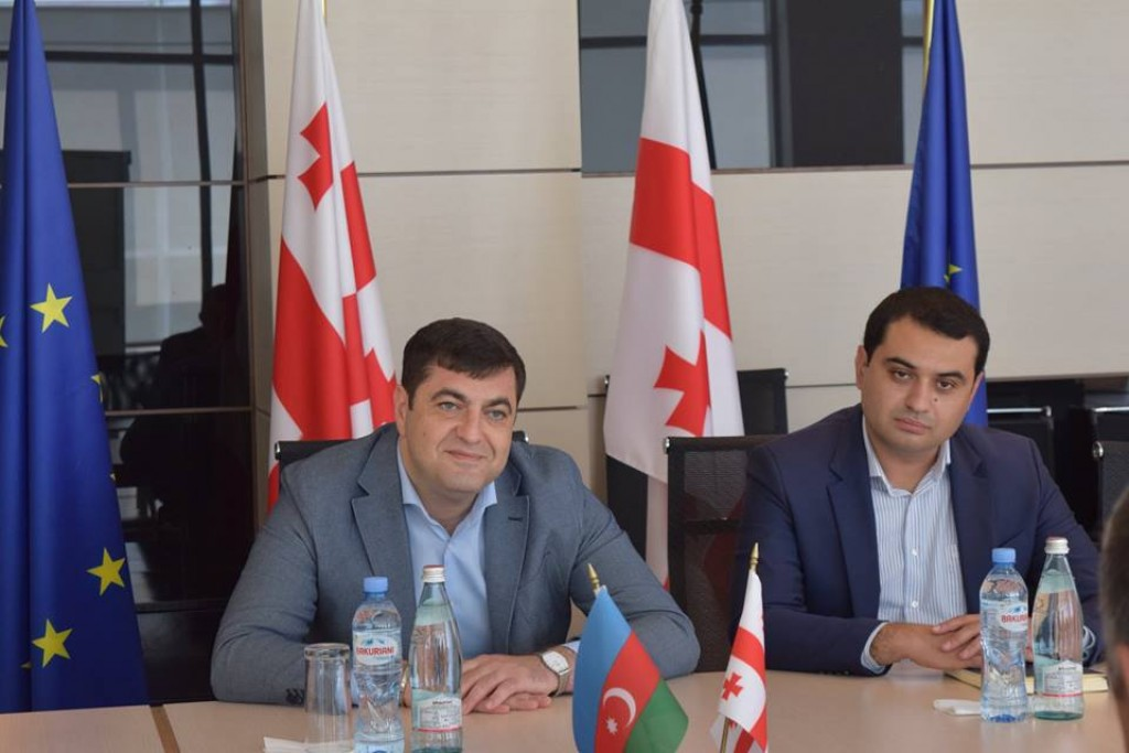 Grigol Nemsadze hosted the Ambassador of Azerbaijan