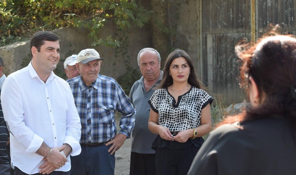 Motorway road rehabilitated in Kazreti