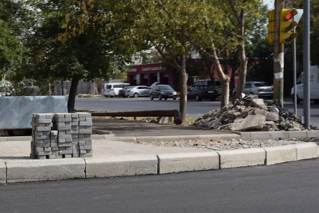 Rehabilitation works on Todria Street