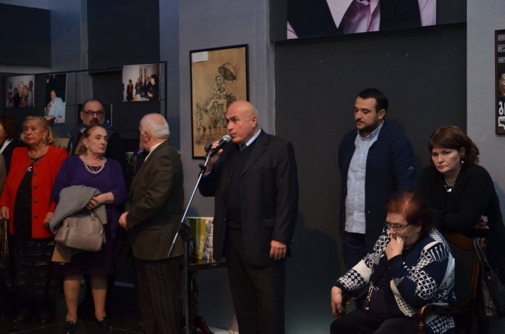 Exhibition dedicated to the 90 th anniversary of Giga Lortkipanidze in Rustavi