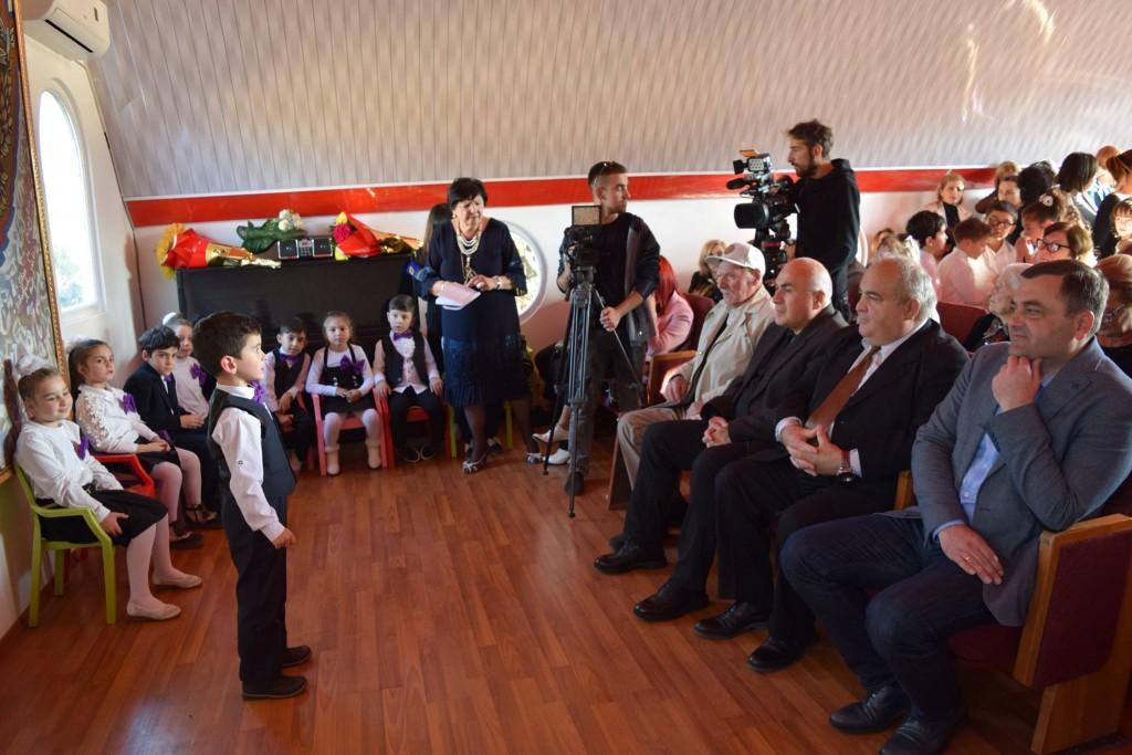 Iakob Gogebashvili's anniversary was celebrated in Rustavi