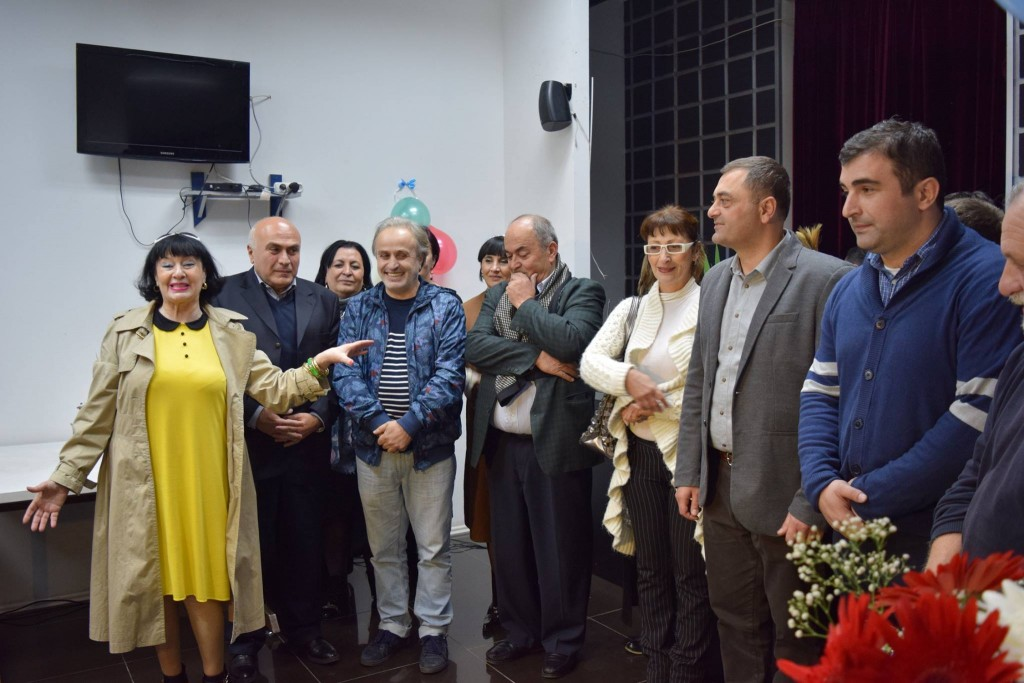 Spartak Kiknadze's jubilee evening in Rustavi