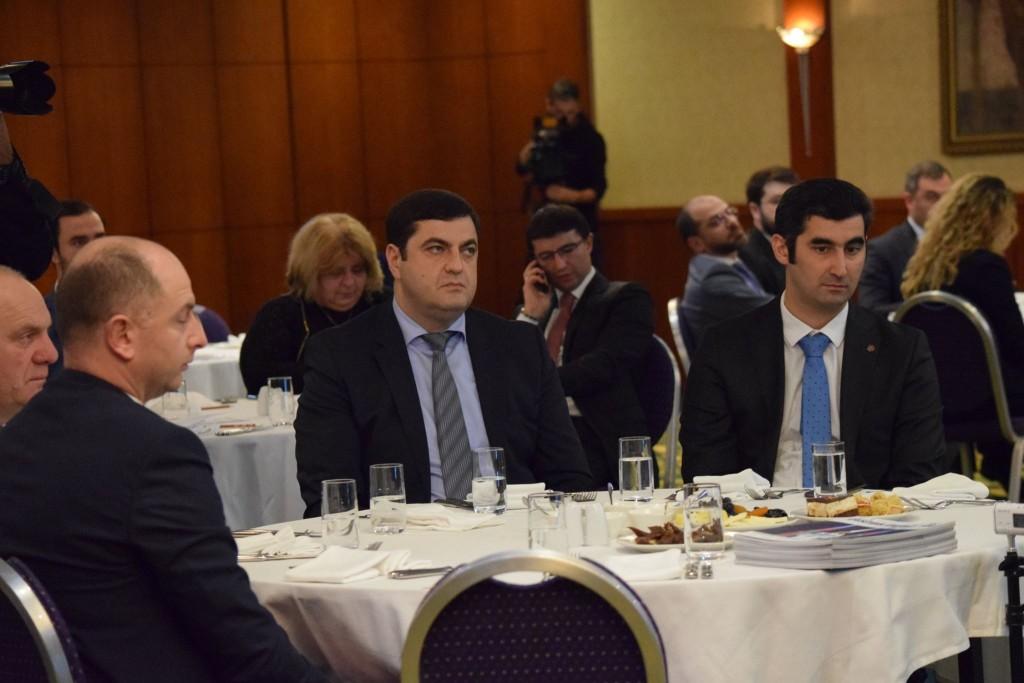 გრიგოლ ნემსაძე ქართულ-აზერბაიჯანულ ბიზნეს ფორუმს დაესწრო