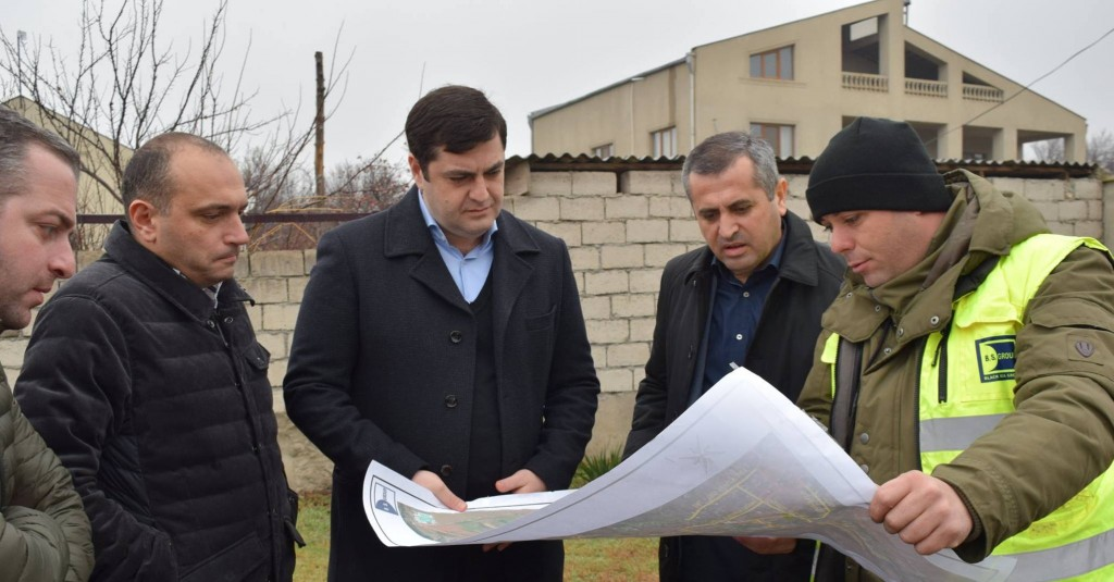 Kvemo Kartli governor evaluated the implementation of infrastructure projects in the region