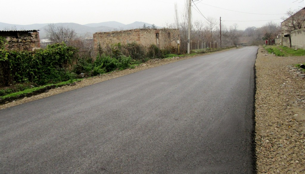 Rehabilitation of Algeti internal roads has been completed
