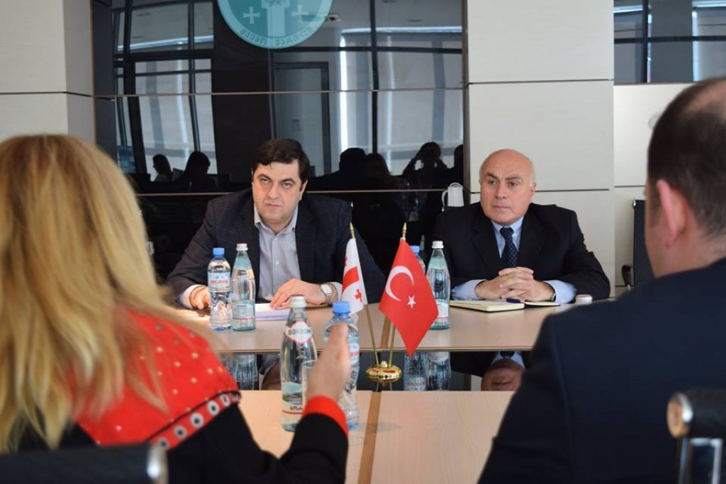 Visit of Ambassador of Turkey in Kvemo Kartli province