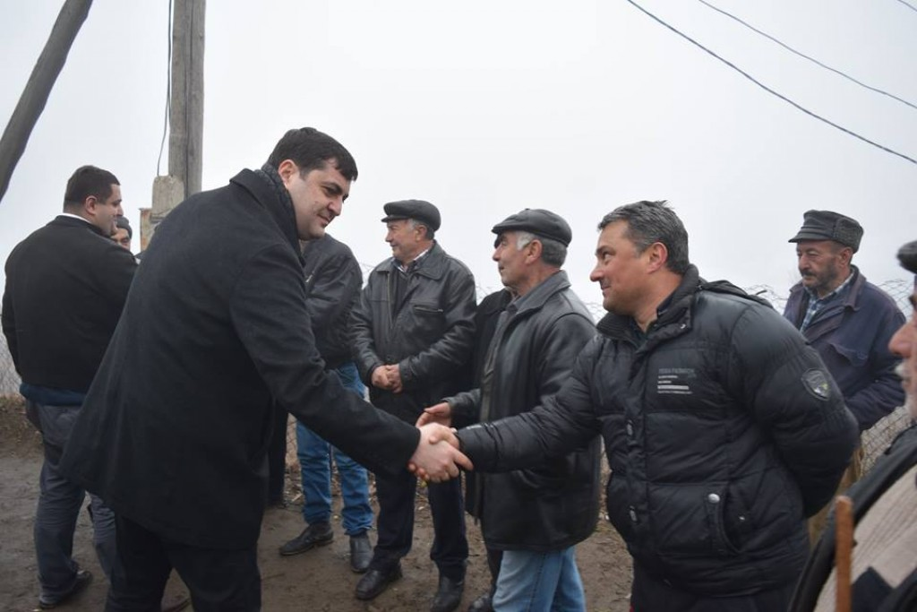 Governor and Dmanisi Mayor met with the inhabitants of village Kamilshalo