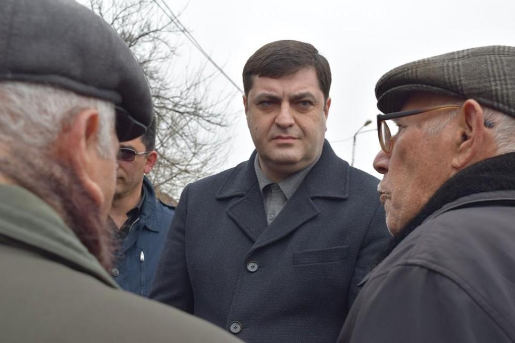 The Governor of Kvemo Kartli Grigol Nemsadze met with the population of Kesalo