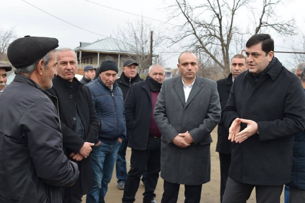 Grigol Nemsadze met with the population of Kosalari village
