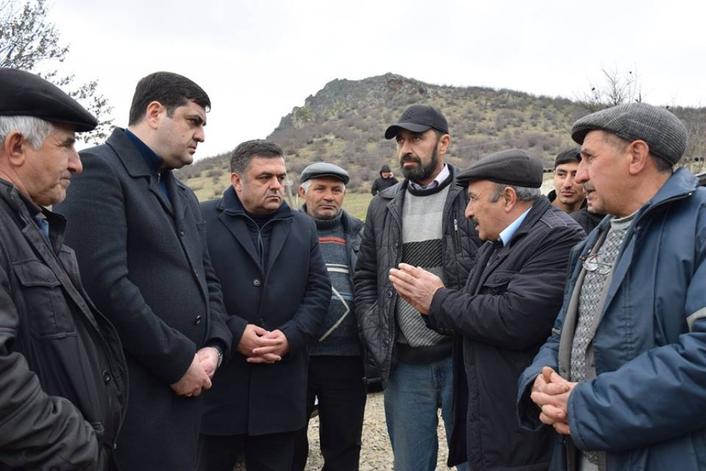 Governor of Kvemo Kartli introduced plans for 2018 in village Mamkhuti