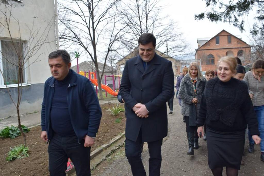 Grigol Nemsadze observed Bolnisi # 2 kindergarten