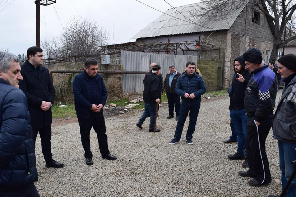 The governor met with the population of Bolnisi