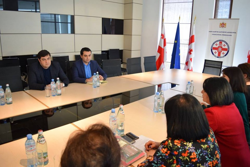 Kvemo Kartli governor met with the representatives of the project