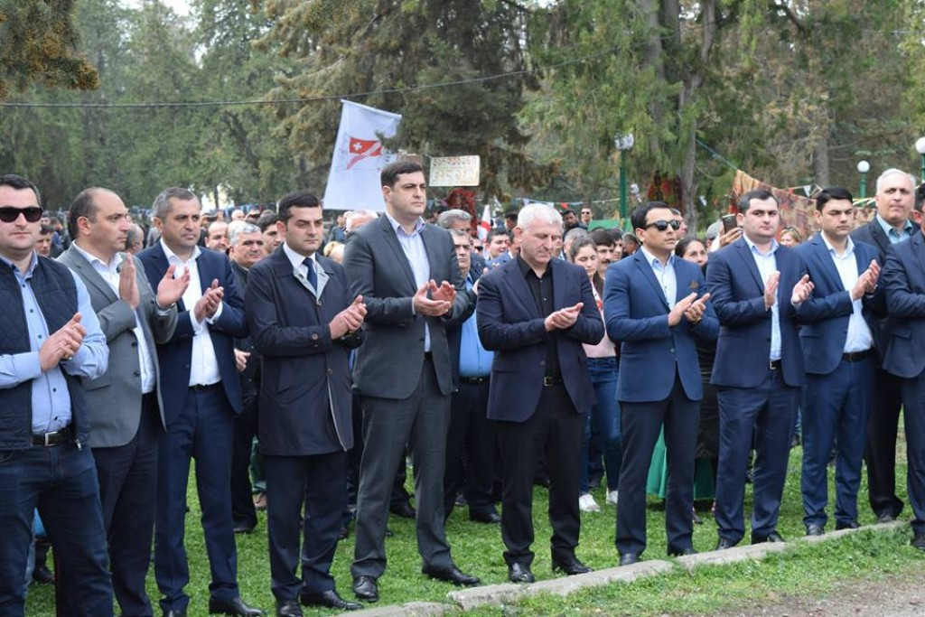 Grigol Nemsadze attended the Novruz Bayram celebration in Gardabani