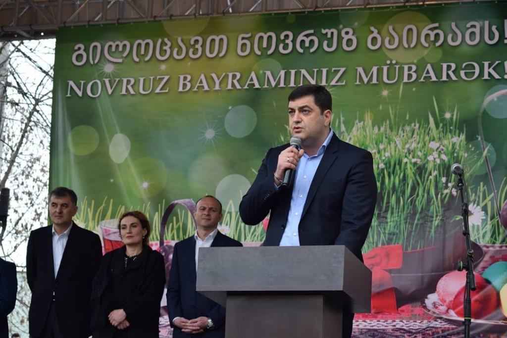 Novruz Bayram celebration in Marneuli municipality
