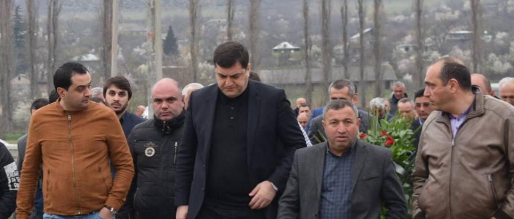 Grigol Nemsadze paid tribute to Archil Tatunashvili's memory