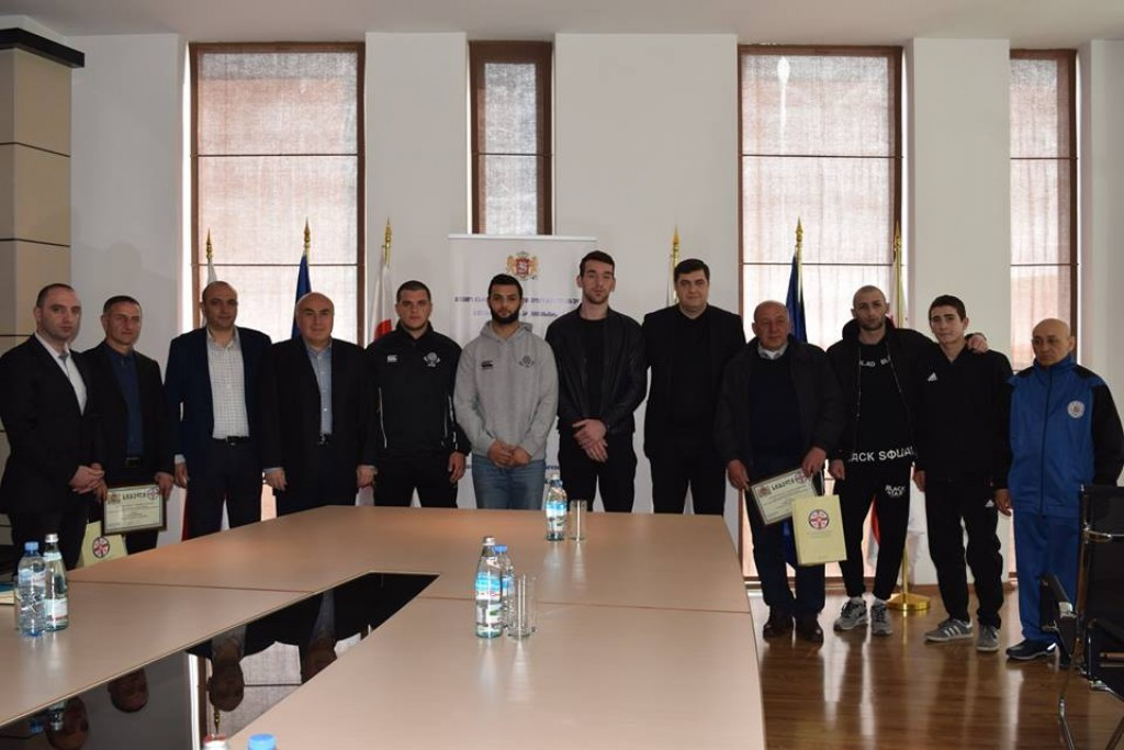Kvemo Kartli governor awarded successful young athletes and their coaches