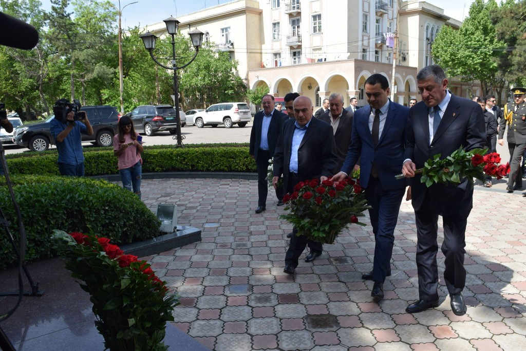 Heydar Aliyev's jubilee was celebrated in Rustavi