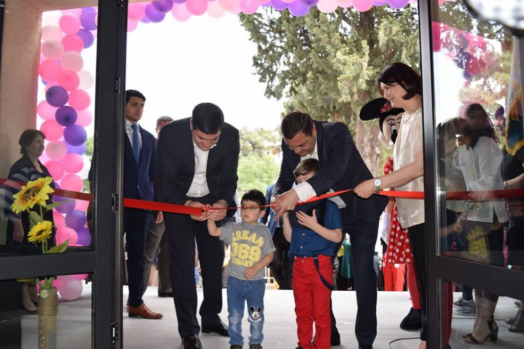A new kindergarten was opened in Rustavi