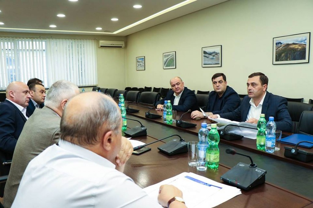 Workshop at the Ministry of Infrastructure