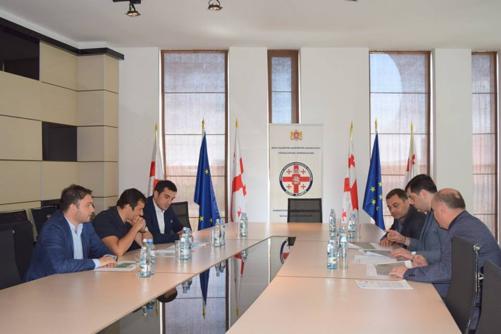 The projects to be implemented in the city of Rustavi were discussed