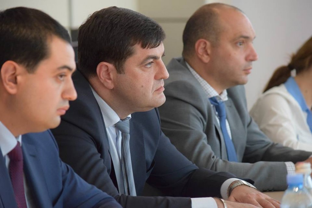 Meeting with representatives of Azerbaijan