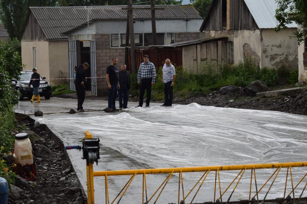 Grigol Nemsadze got familiarized with the process of road infrastructure in Tsalka municipality
