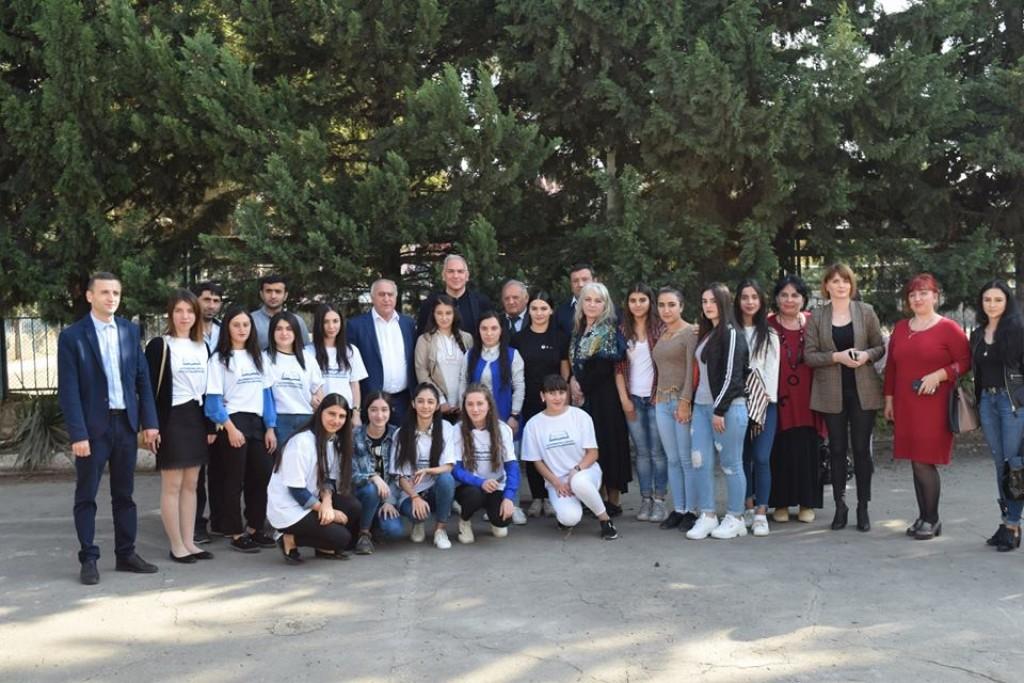 შეხვედრა მარნეულის საზოგადოებრივი კოლეჯის სტუდენტებთან