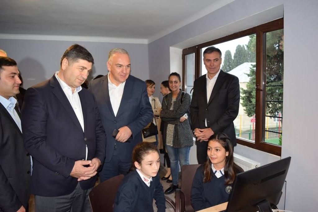 """მარნეულში ქართულენოვანი კერძო სკოლა """"მომავალი"""" დაფუძნდა"""