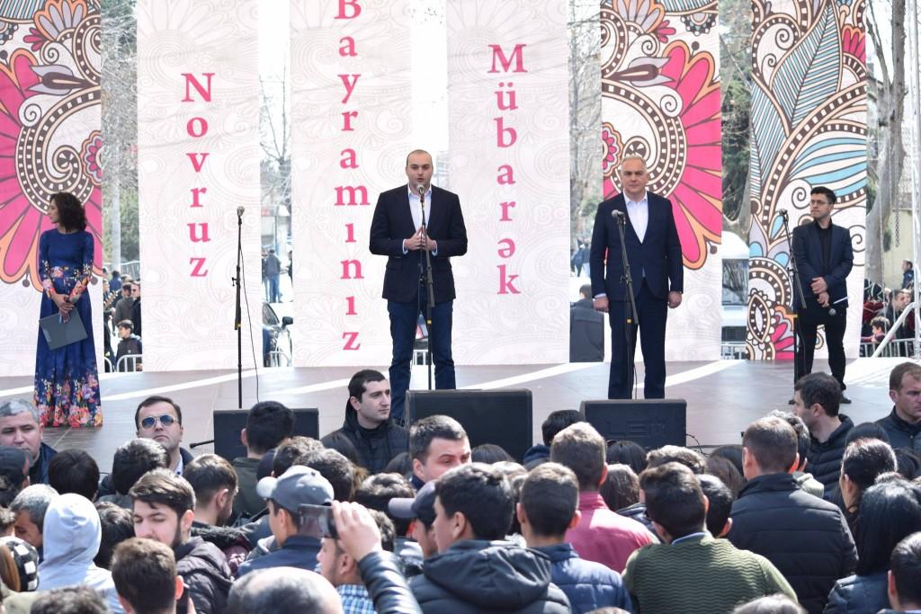 საქართველოს პრემიერ-მინისტრი ნოვრუზ ბაირამის ღონისძიებაზე