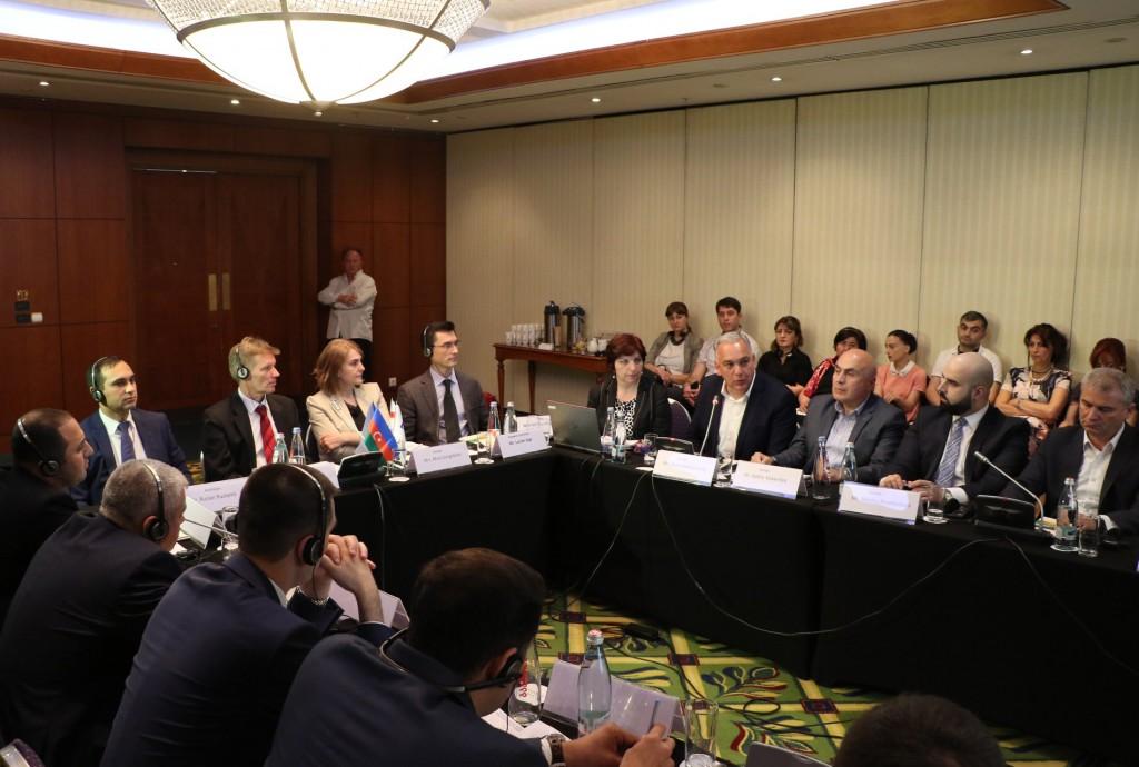 შოთა რეხვიაშვილი ევროკავშირის პროექტების შემაჯამებელ შეხვედრაზე
