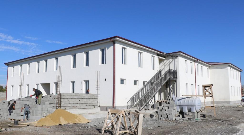 აღთაკლია-ყარათაკლიის საბავშვო ბაღის მშენებლობა დასრულების ეტაპზეა