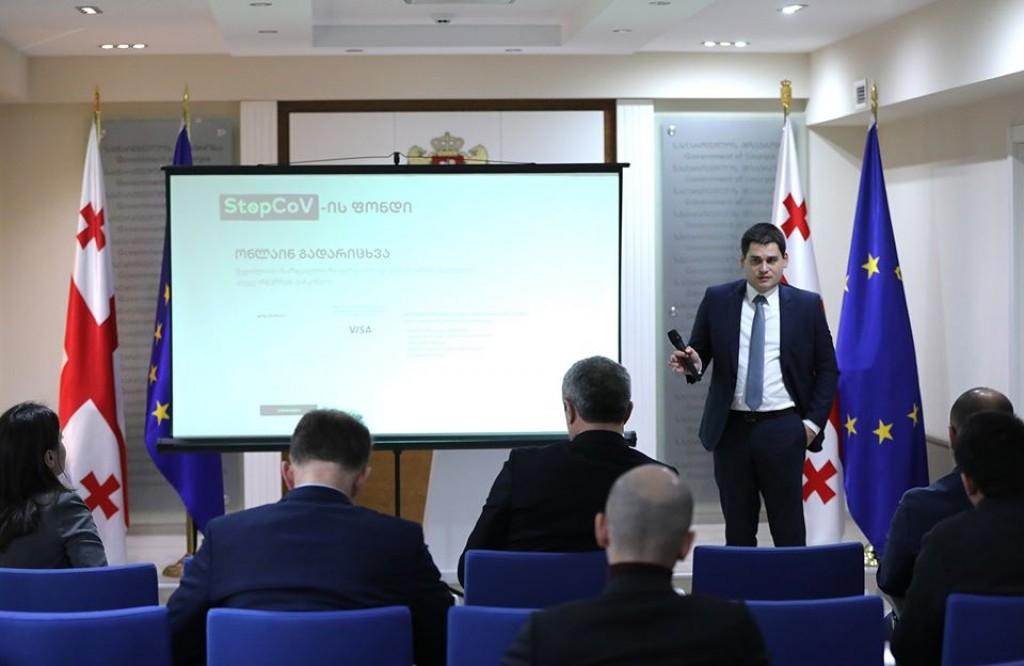 ბიზნესომბუდსმენის აპარატში სპეციალური პლატფორმა - StopCoV ფონდი შეიქმნა
