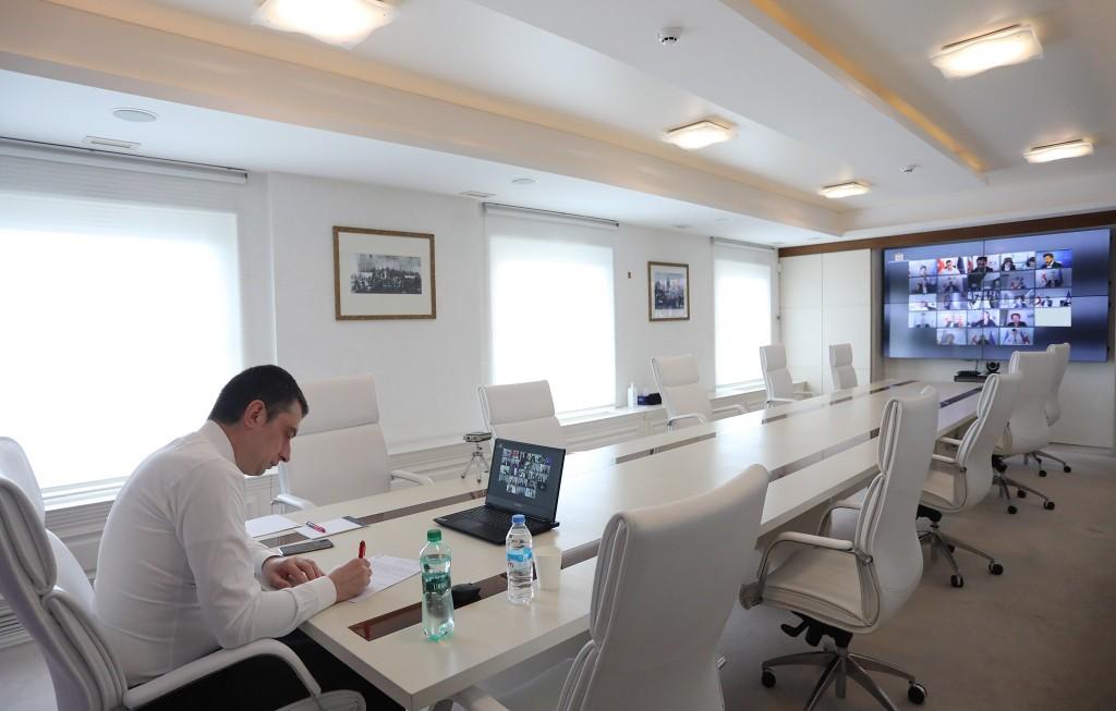 პრემიერ-მინისტრ გიორგი გახარიას ხელმძღვანელობით უწყებათაშორისი საკოორდინაციო საბჭოს სხდომა ვიდეოკონფერენციის ფორმატში გაიმართა