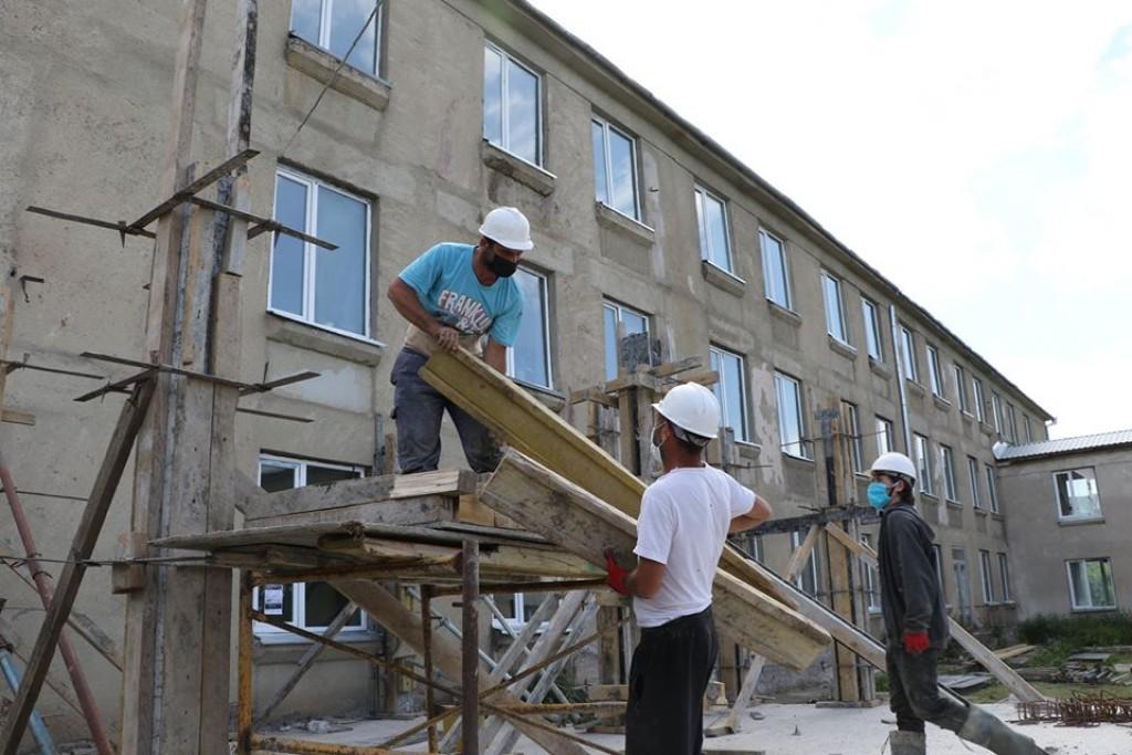 სარეაბილიტაციო სამუშაოები დმანისის მუნიციპალიტეტის სკოლებში