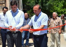 Two new squares in Dmanisi municipality