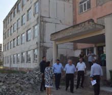 Infrastructure projects in Rustavi schools