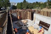 Infrastructural works are in progress in Rustavi