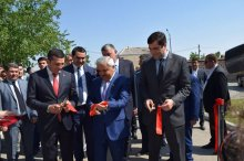 A new sports complex was built in the village of Kharatakhlia
