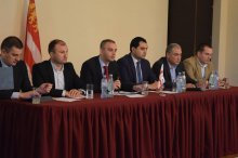 Information meeting in Marneuli