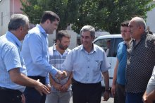 Governor in Marneuli municipality villages