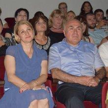 Mamuka Charkviani's creative evening in Rustavi