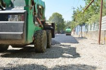 The governor got acquainted with the road rehabilitation works in Tetritskaro municipality