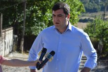 Grigol Nemsadze got acquainted with the infrastructure projects in Marneuli municipality